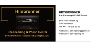 Hirsbrunner Car-Cleaning