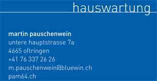 Martin Pauschenwein Hauswartung