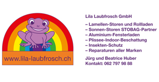 Lila Laubfrosch